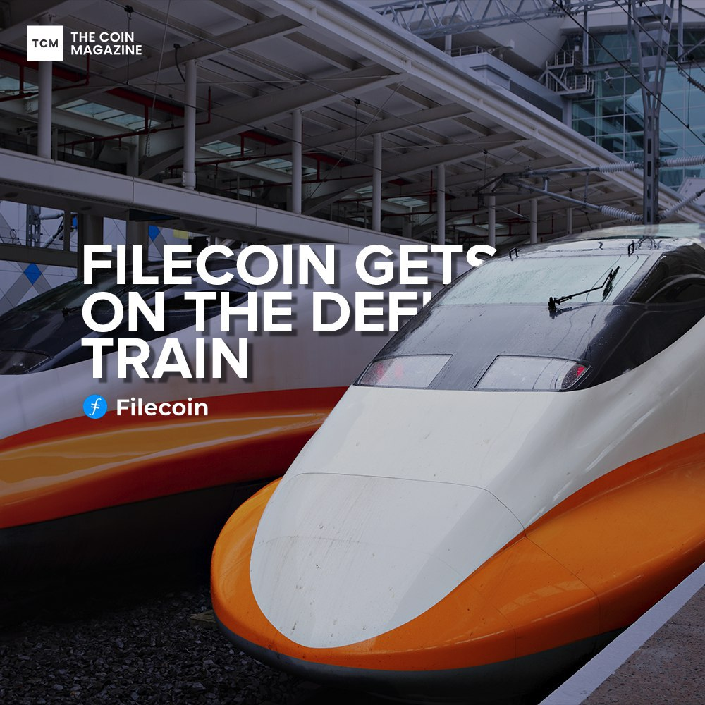 <bold>Filecoin</bold> gets on the DeFi Train