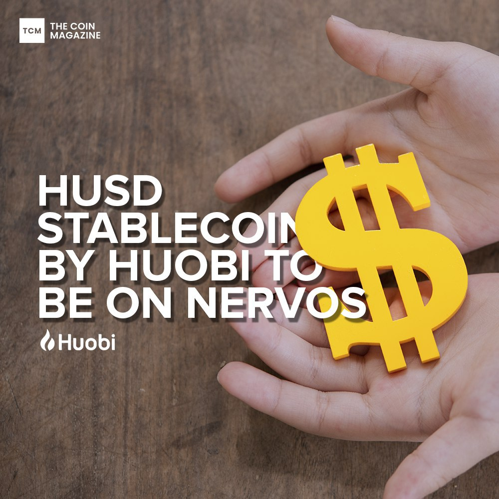 <bold>HUSD</bold> Stablecoin by Huobi to be on Nervos